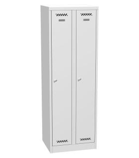 Šatní skříň kovová dvouoddílová BAS 32A 1800 x 600 x 500