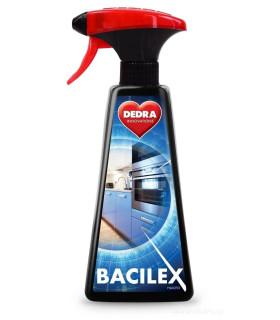 Čistící prostředek BACILEX 500 ml na bakterie a viry, obsah alkoholu 70%