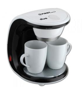 Kávovar First - barva černo bílá