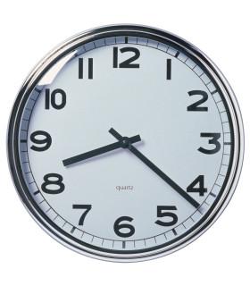 Nástěnné hodiny, nerezavějící ocel