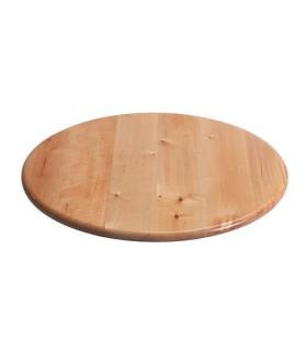Otočný podnos, masívní dřevo bříza, 39 cm