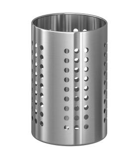Stojan na kuchyňské náčiní, nerezavějící ocel, 18 cm