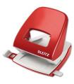 Děrovačka Leitz 5008, červená