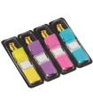 Záložky Post-it, v zásobníku, mix 4 barev