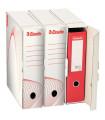 Archivační krabice Esselte na pořadače, bílá