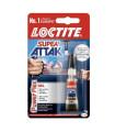 Vteřinové lepidlo Loctite Super Attak, gel, 3 g
