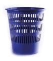 Odpadkový koš Donau - 16 l, plast, modrý