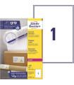 Etikety na balíky, 199,6 x 289,1 mm, 100 ks