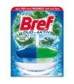 WC gel závěsný Bref Duo Aktiv